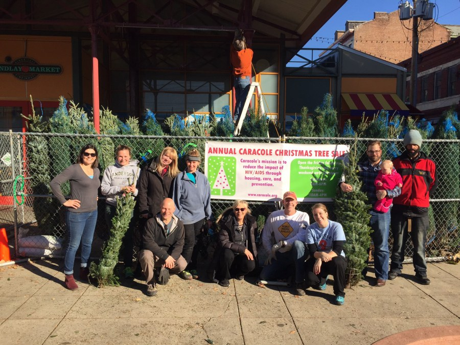 Caracole's Annual Christmas Tree Sale at Findlay Market